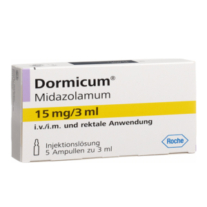 Midazolamum ohne Rezept im Onlineshop bestellen mit Versand aus Deutschland. Verschreibungspflichtige Medikamente rezeptfrei kaufen