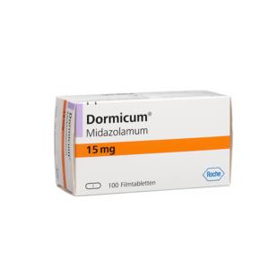 Dormicum 15 mg ohne Rezept im Onlineshop bestellen mit Versand aus Deutschland. Verschreibungspflichtige Medikamente rezeptfrei kaufen