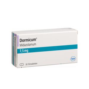 Dormicum ohne Rezept im Onlineshop bestellen mit Versand aus Deutschland. Verschreibungspflichtige Medikamente rezeptfrei kaufen