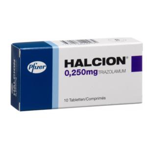 Halcion ohne Rezept im Onlineshop bestellen mit Versand aus Deutschland. Verschreibungspflichtige Medikamente rezeptfrei online kaufen im deutschen Shop