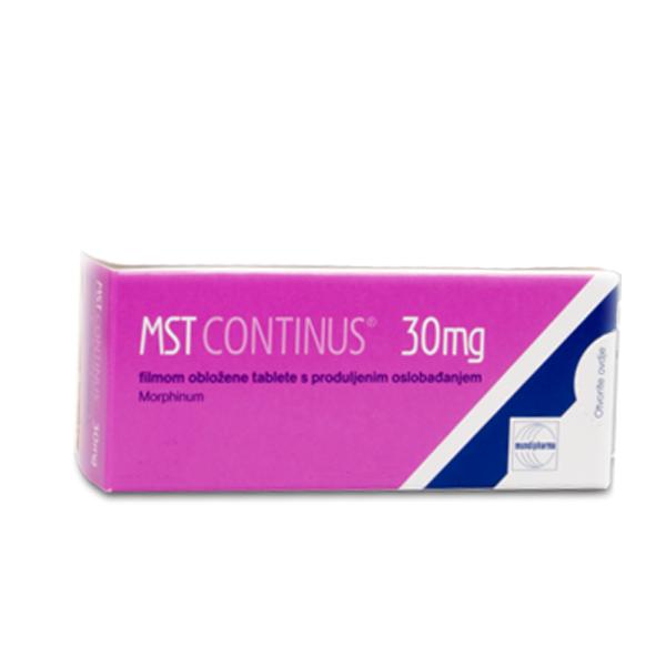 MST Continus 30 mg ohne Rezept im Shop bestellen. Versand aus Deutschland. Verschreibungspflichtige Medikamente rezeptfrei online kaufen aus deutscher Versandapotheke