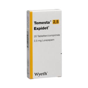Temesta 2,5mg ohne Rezept im Onlineshop bestellen mit Versand aus Deutschland. Verschreibungspflichtige Medikamente rezeptfrei kaufen