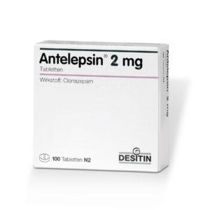 Antelepsin 2 mg ohne Rezept im Onlineshop bestellen mit Versand aus Deutschland. Verschreibungspflichtige Medikamente rezeptfrei online kaufen im deutschen Shop