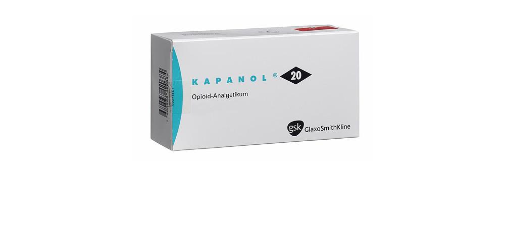 Kapanol ohne Rezept kaufen im Onlineshop bestellen mit Versand aus Deutschland Schmerzmittel und verschreibungspflichtige Medikamente rezeptfrei direkt billig kaufen