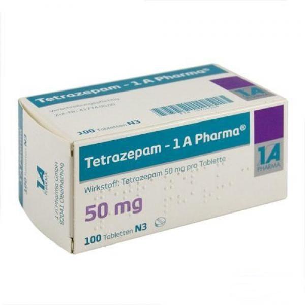 Tetrazepam ohne Rezept im Onlineshop bestellen mit Versand aus Deutschland. Verschreibungspflichtige Medikamente rezeptfrei online kaufen im deutschen Shop